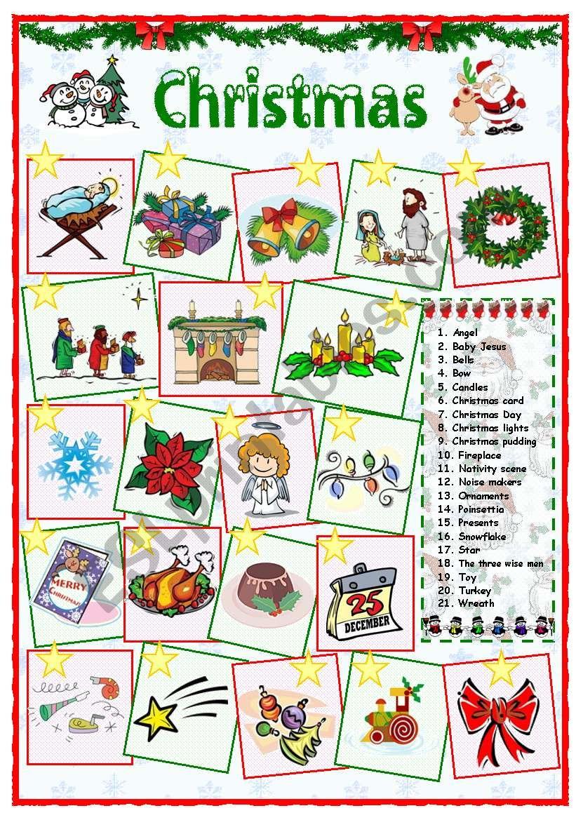 Christmas vocabulary (2 of 2)