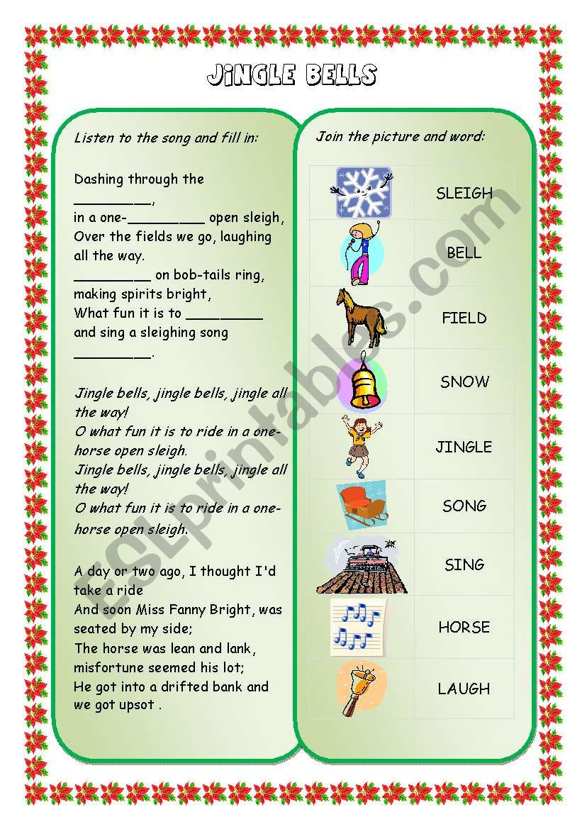 Christmas songs and carols (set) - JINGLE BELLS