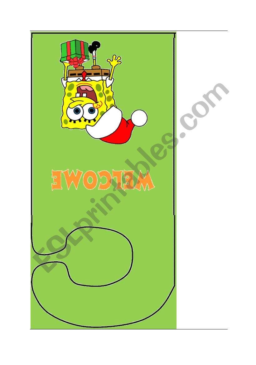 Doorknob Hangers About Christmas Esl Worksheet By Sareelt