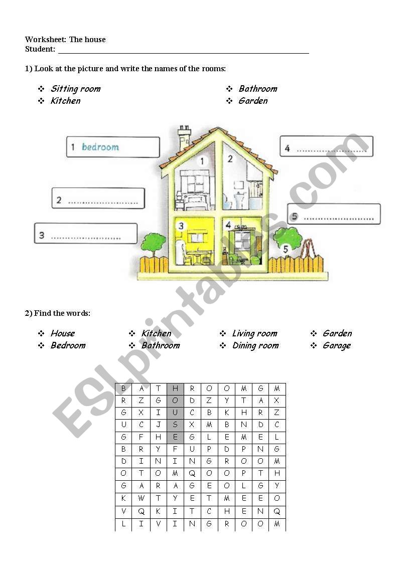 The house- nice activity for kids