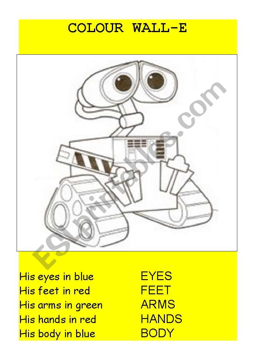 Wall E Movie Worksheet Esl By Kguilfoyle As Well English Worksheets ...