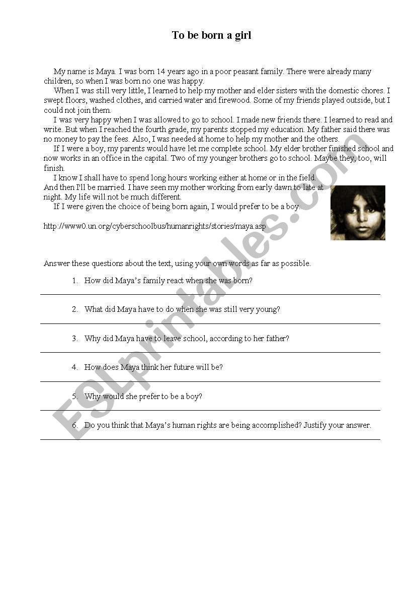 Children_rights worksheet