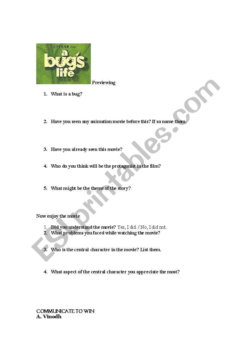 a bugs life 2 full movie free download in tamil