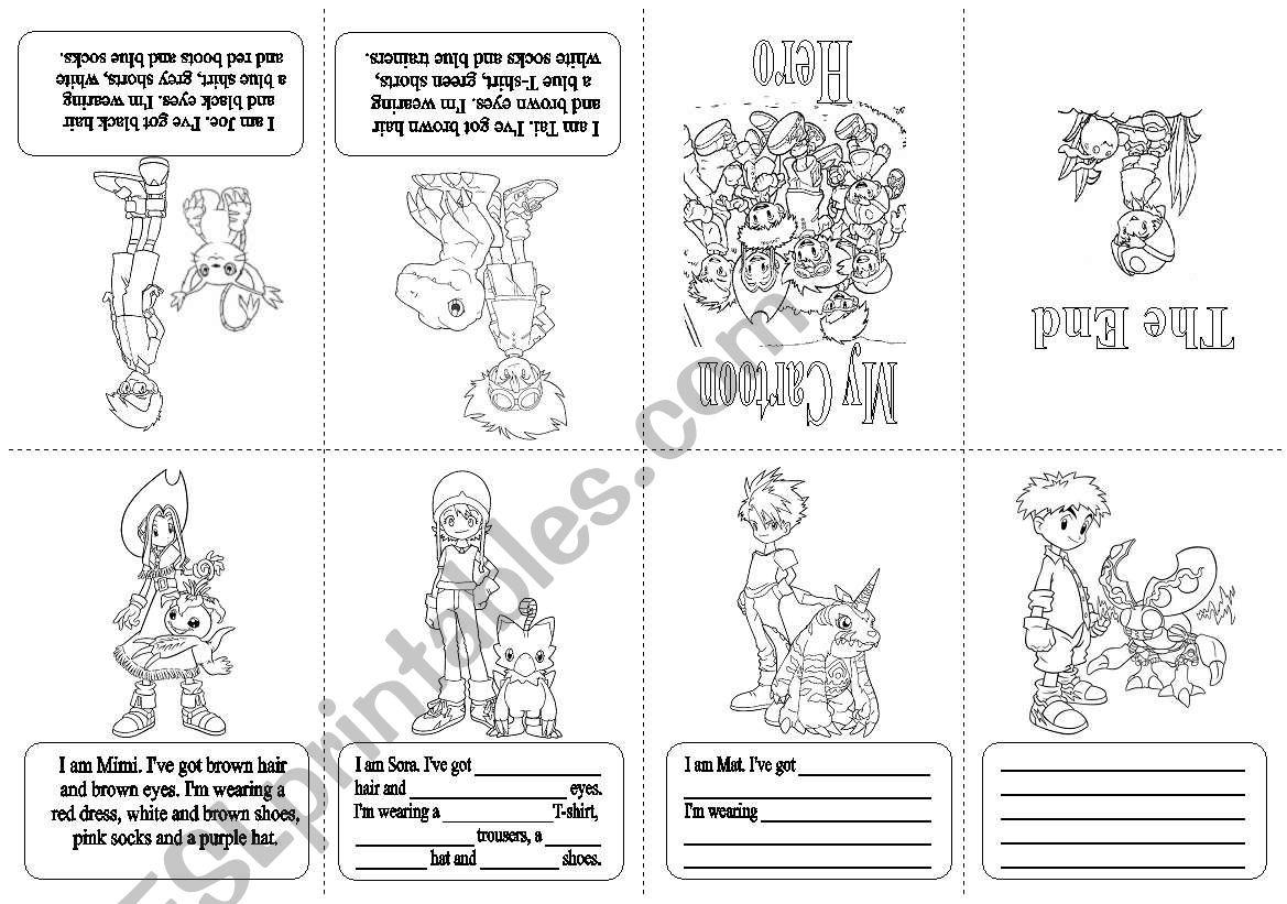 Mini book   worksheet