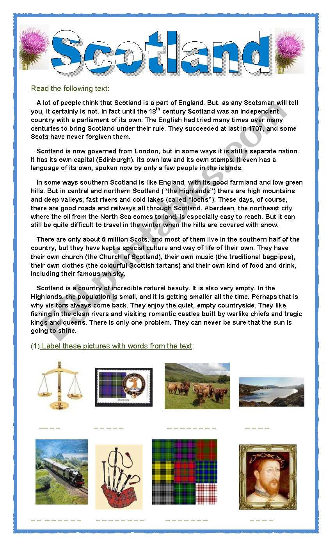 SCOTLAND - A special way of life