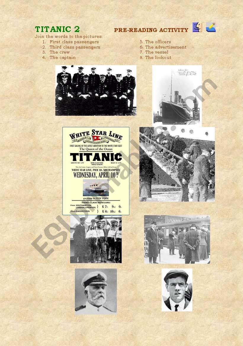 TITANIC 2 worksheet
