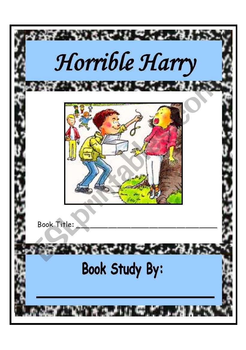 Horrible Harry Comprehension Packet