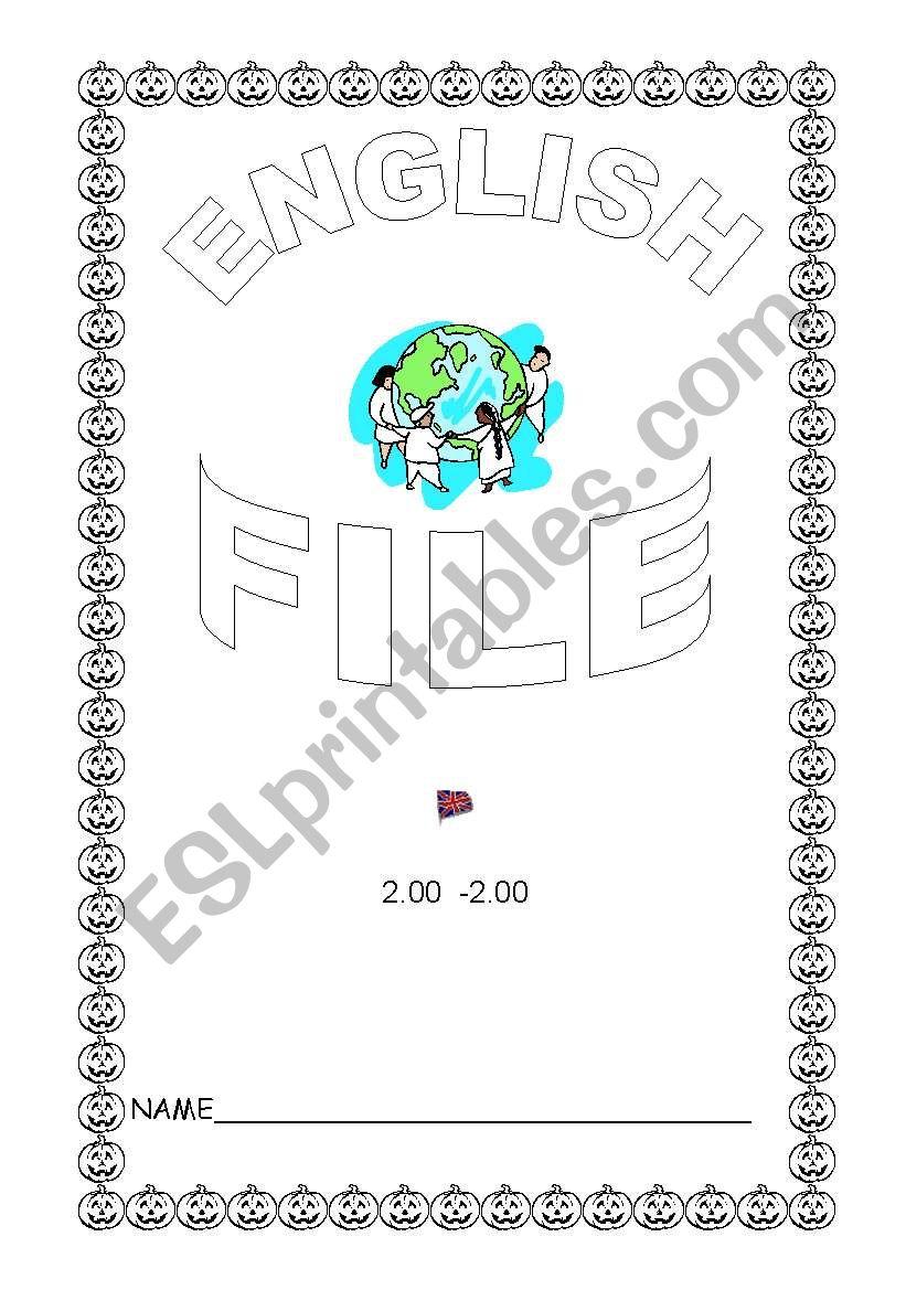 English file worksheet