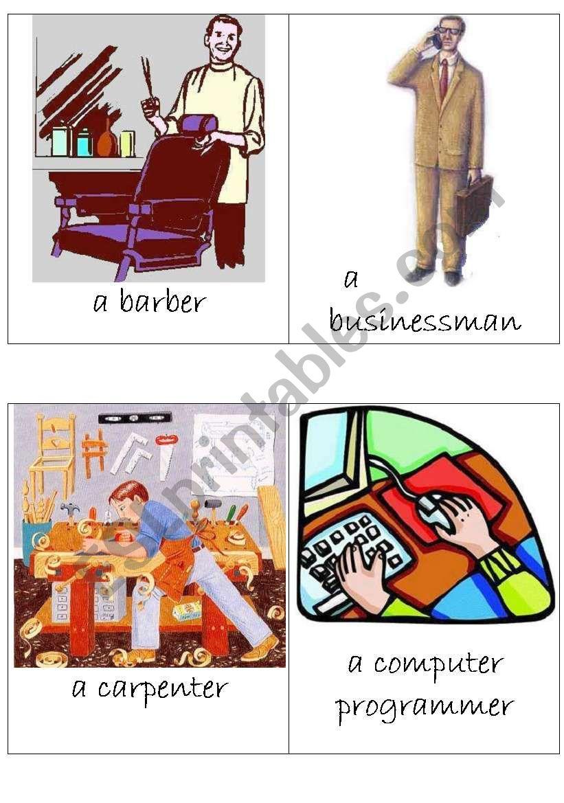 Occupations (2/3) worksheet