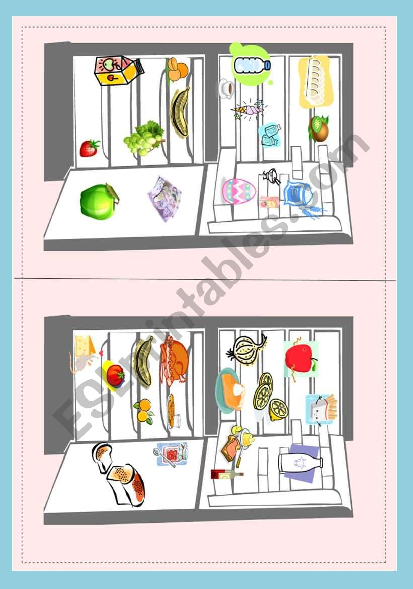 What´s in your fridge? part 2 - pair work