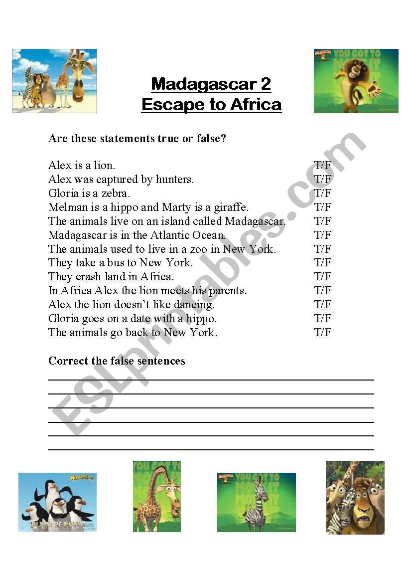 Madagascar 2 - Escape to Africa