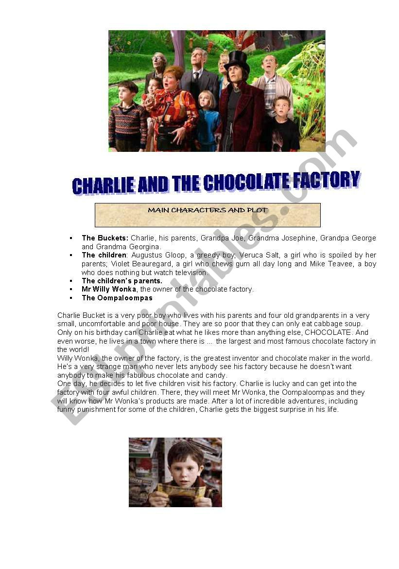 FILM: CHARLIE AND THE CHOCOLATE FACTORY