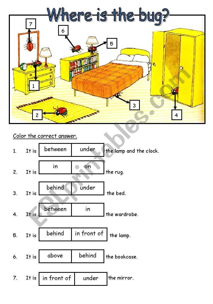Preposition In Learn In Marathi All Complate: ESL Worksheet By Amizaki