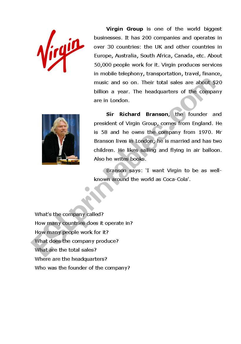 Virgin & Apple: Company Profile