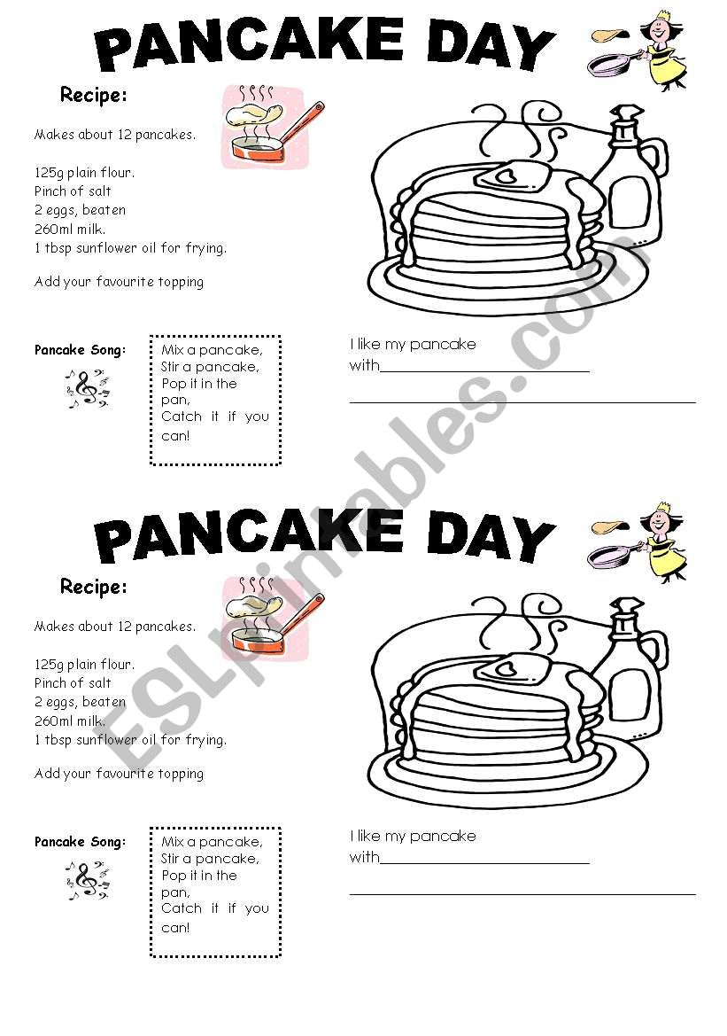 Pancake Day Activities for Kids | 1169x821