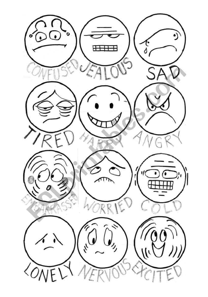 How do you feel? - Faces of emotions