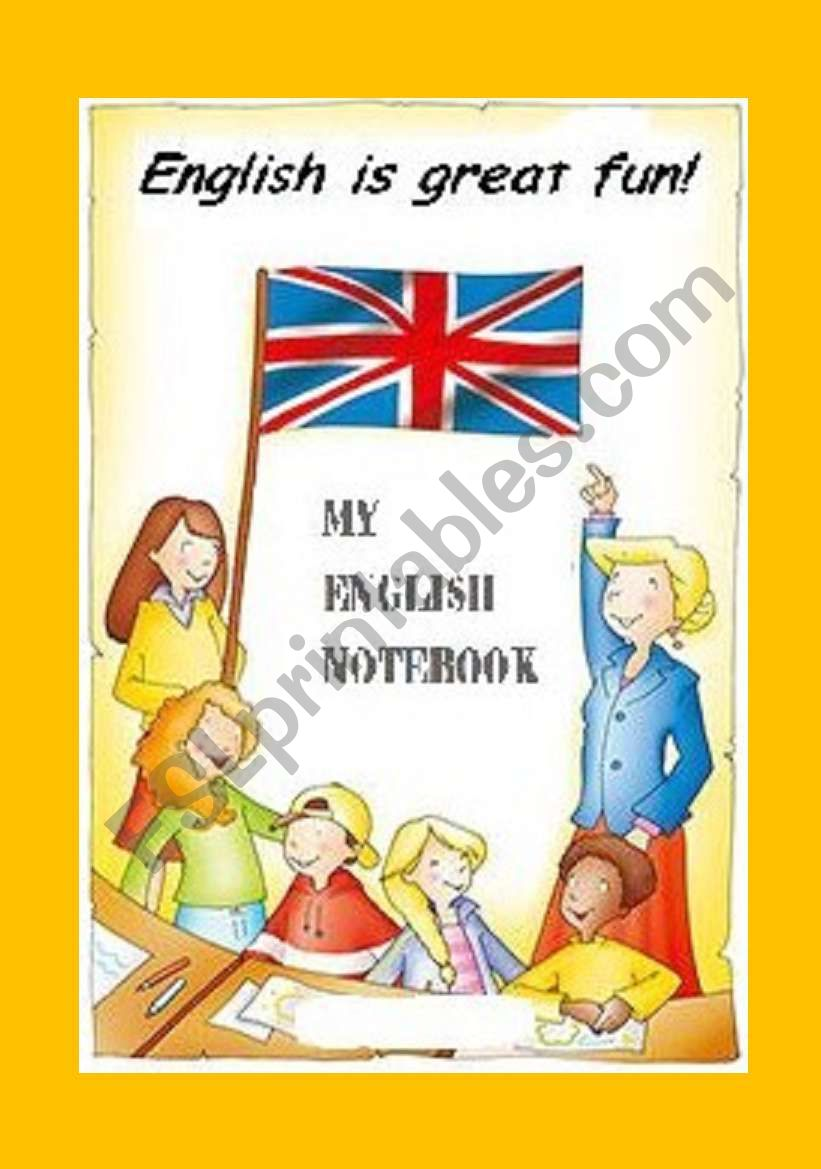 English is a great fun! worksheet