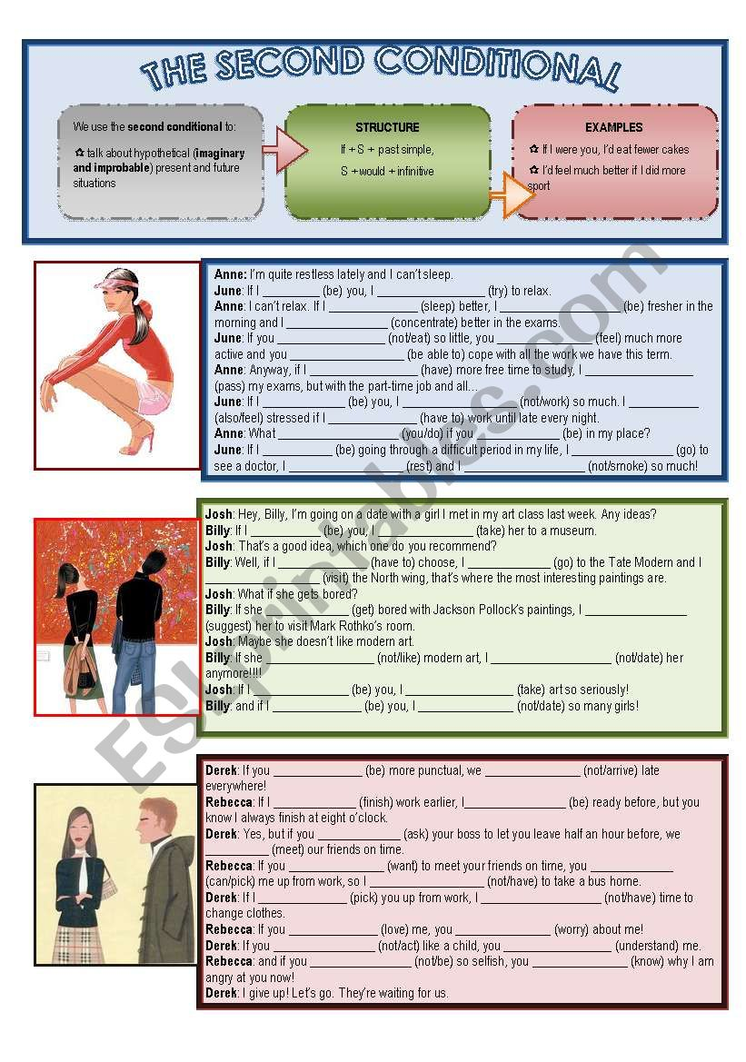 The Second Conditional worksheet