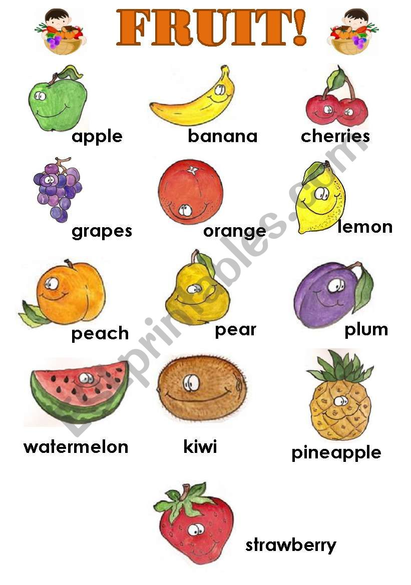 Name Any Fruit That Begins With The Letter B