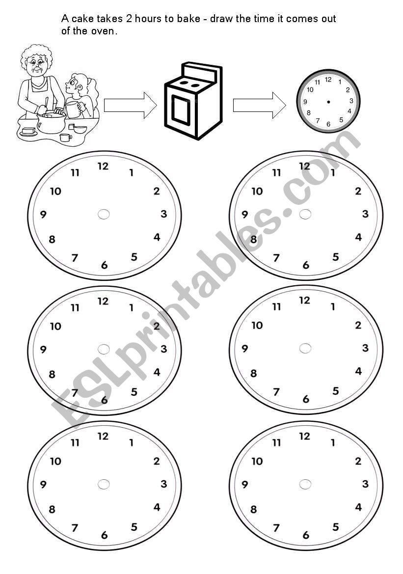 english worksheets time problems 2 hours later. Black Bedroom Furniture Sets. Home Design Ideas