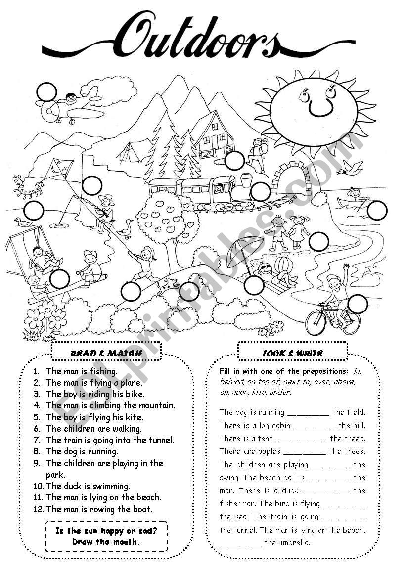 Outdoor (2) worksheet
