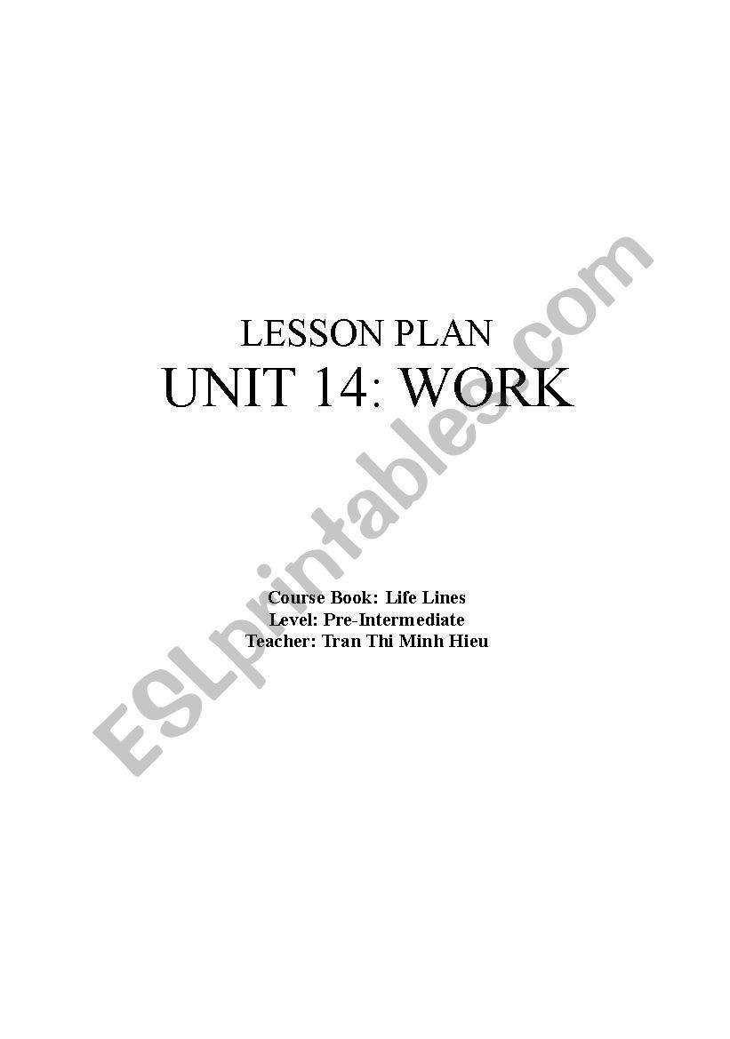life lines unit 14 worksheet