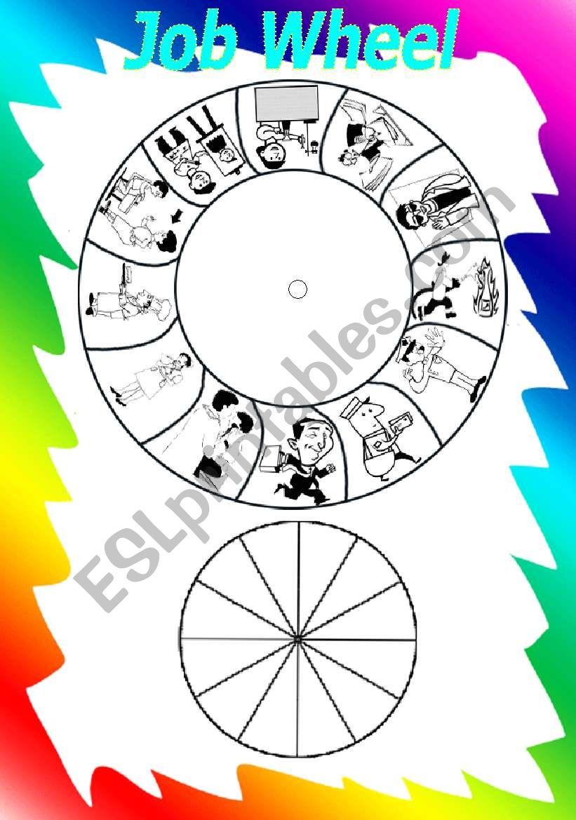 job wheel worksheet