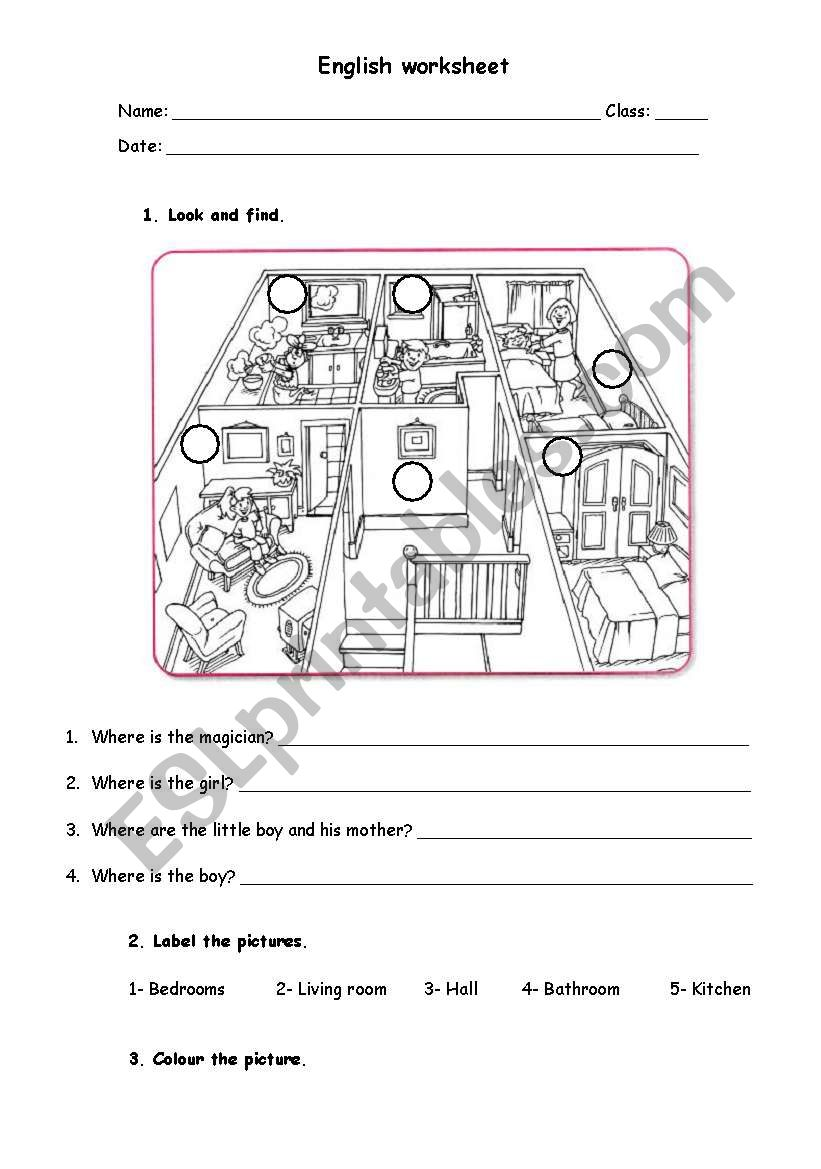 House worksheet