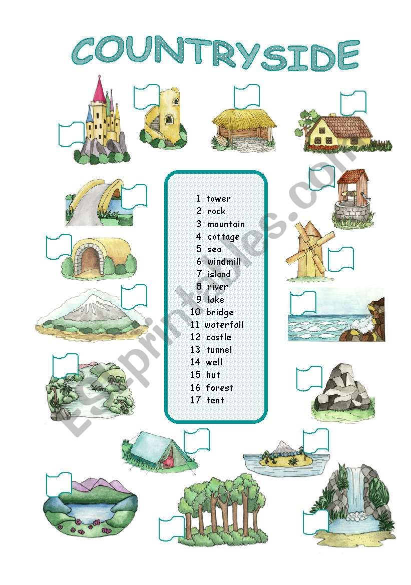 Countryside (2/2) worksheet