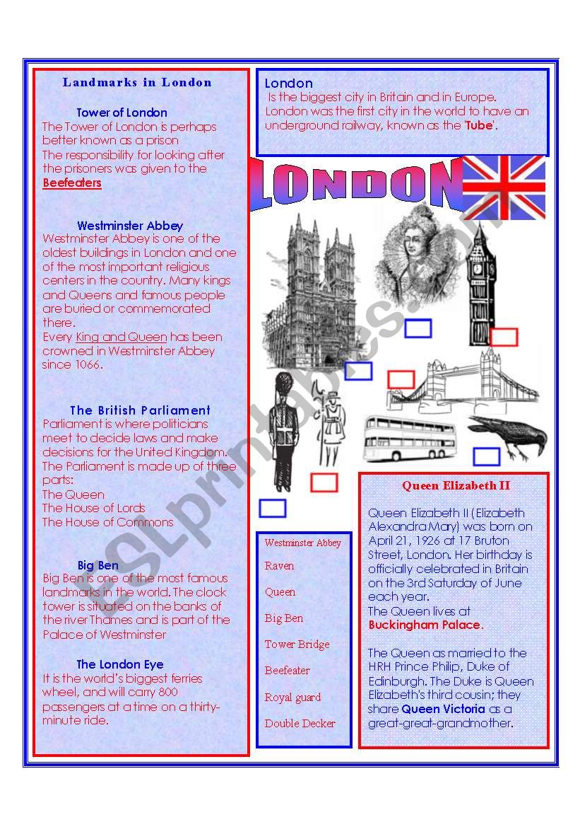ENGLAND and The ENGLISH LANGUAGE