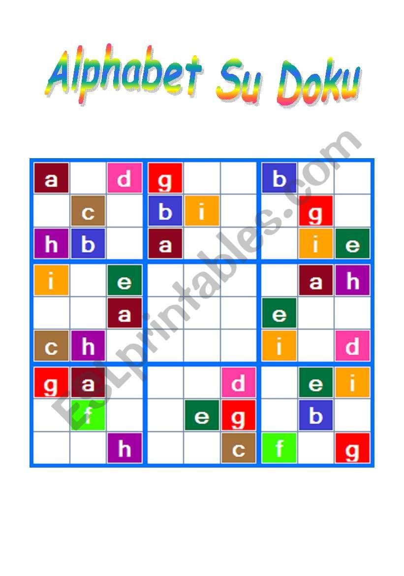 Alphabet Doku