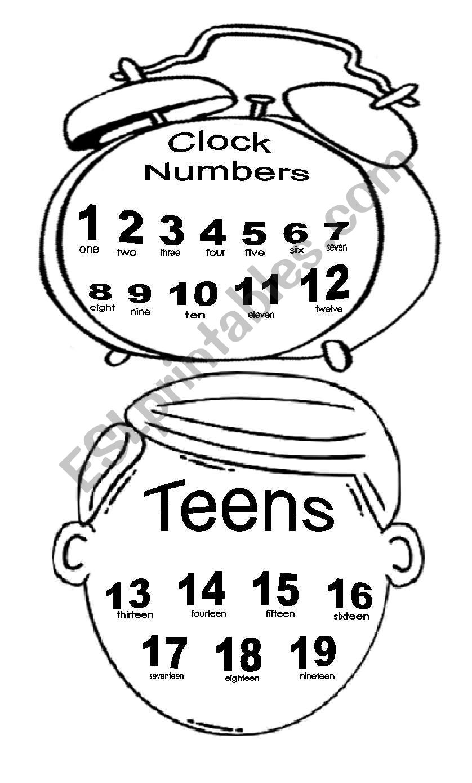 NUMBERS 1-1000 - ESL worksheet by Marilove
