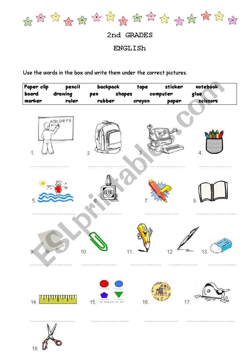 class objetcs worksheet
