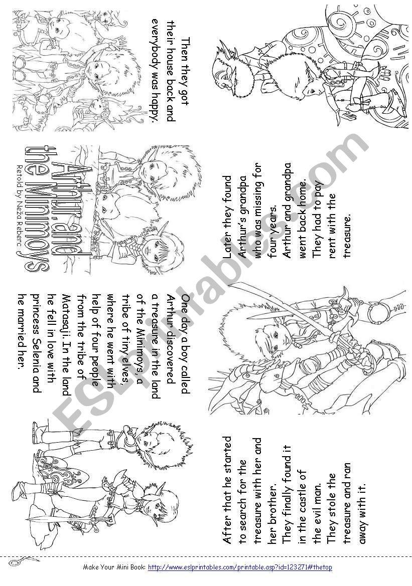 Arthur and the Minimoys (Mini Book)