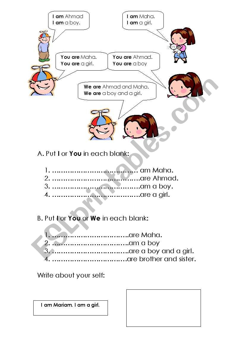 Grade 3 Grammar Esl Worksheet By Maha
