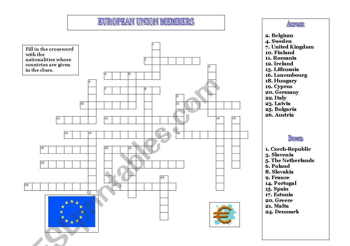 9th MAY IS EUROPE DAY! 2 worksheet