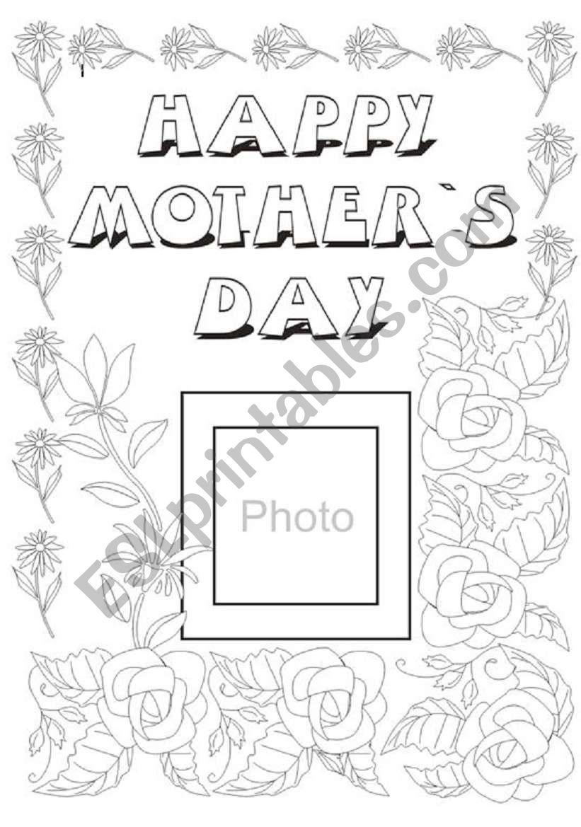 mother s day esl worksheet by peruvianboy26. Black Bedroom Furniture Sets. Home Design Ideas
