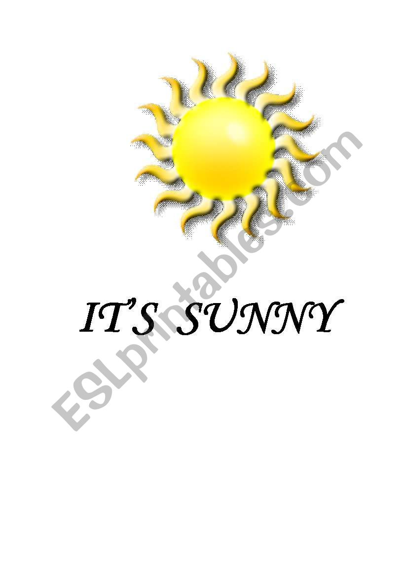 WEATHER FLASHCARDS (  7 PAGES  )