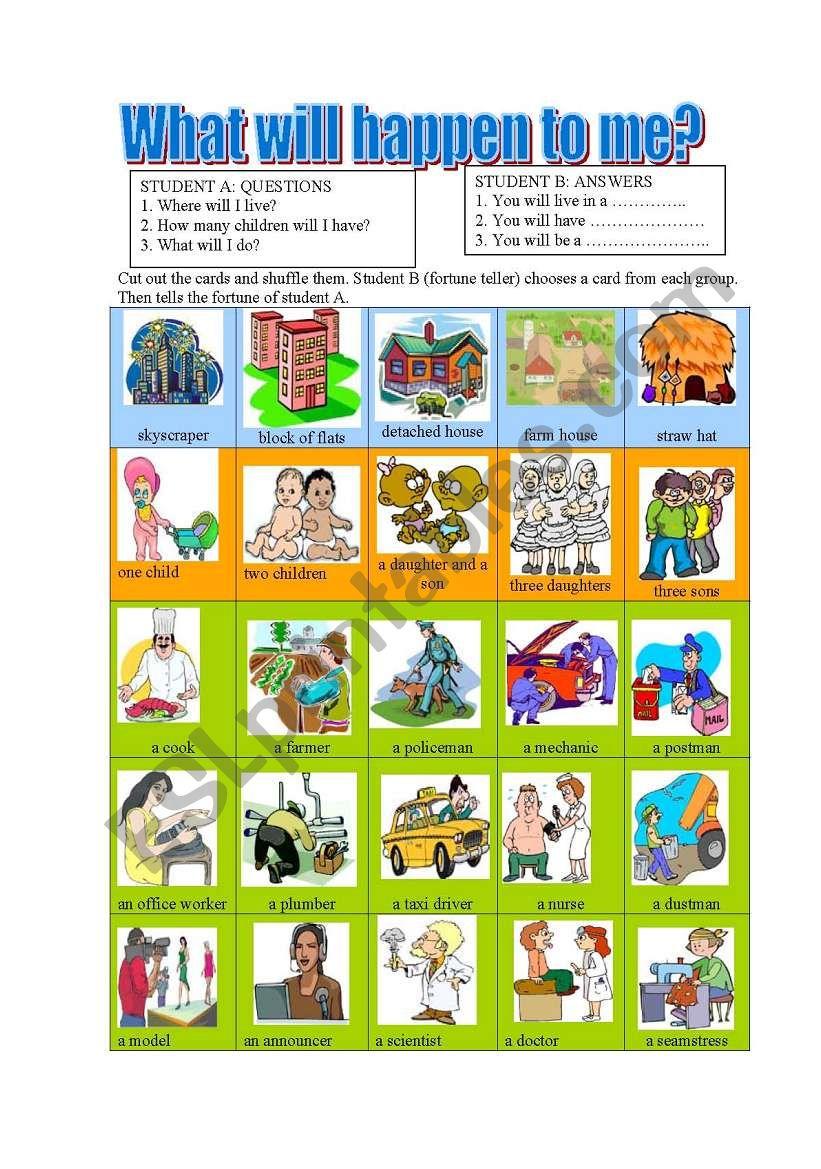Will-fortune teller cards-pair work