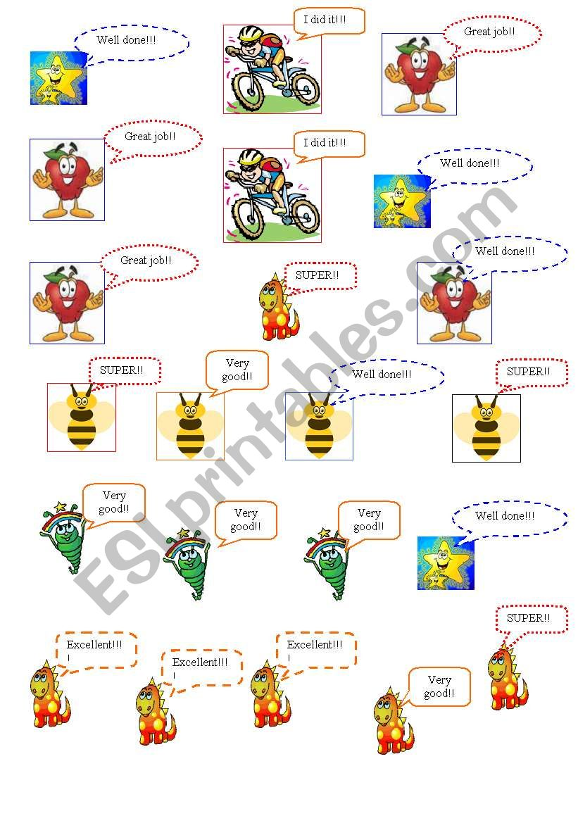 NICE STICKERS FOR YOUR STUDENTS!!!!