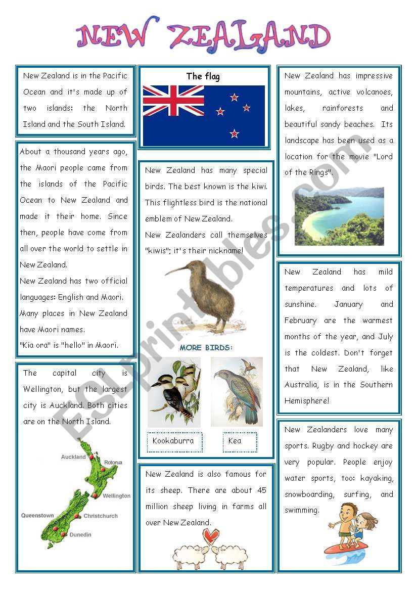 ENGLISH_SPEAKING COUNTRY (4) - NEW ZEALAND