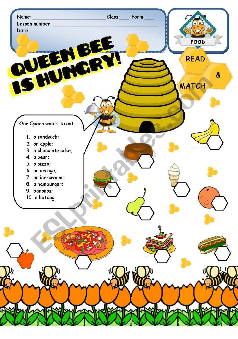 FOOD - Queen Bee is hungry! - 1