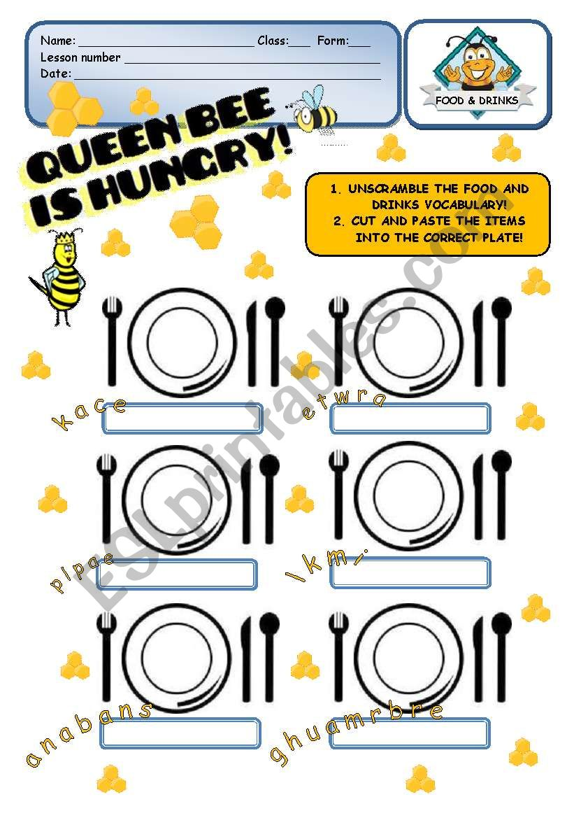 FOOD - Queen Bee is hungry! - 2