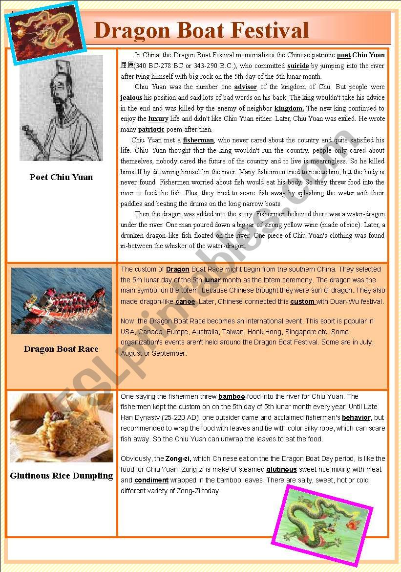 Dragon Boat Festival 28 May 2009 (2 pages)
