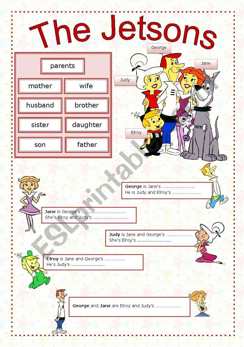 The Jetsons  worksheet