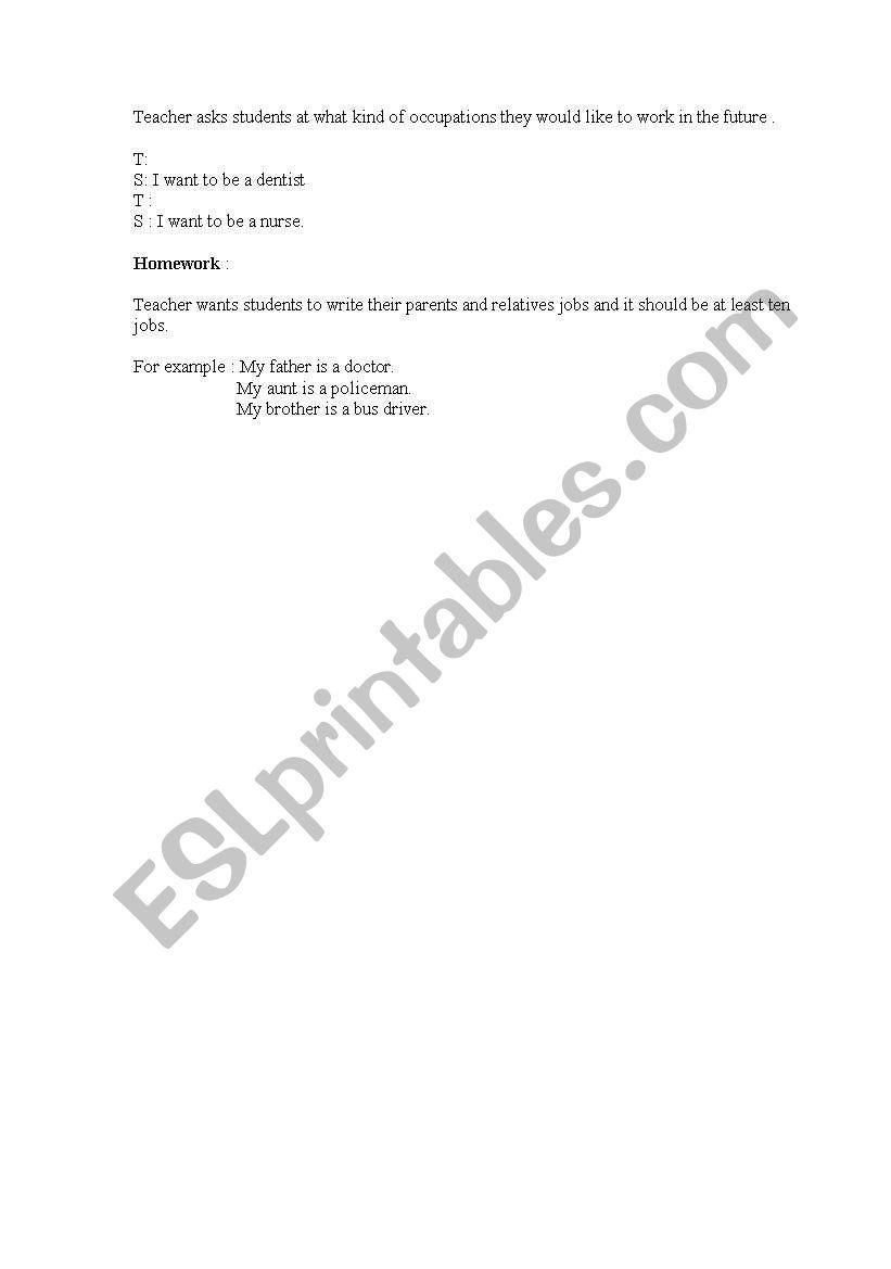Lesson Plan Esl Worksheet By Fawai