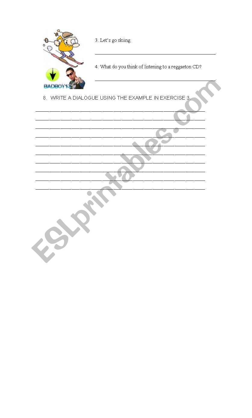 Making invitations accepting and declining esl worksheet by aysco stopboris Images