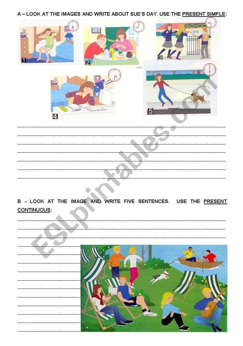 Grammar worskeet worksheet