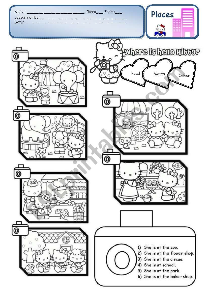 Where is Hello Kitty? - PLACES