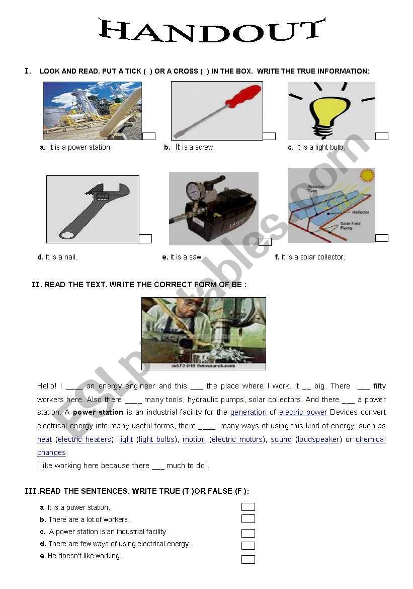 technical English - energy engineering